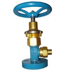 Клапан запорный криогенный АЗК-10-15/250 (КС7142)