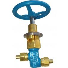 Клапан запорный криогенный АЗТ-10-10/250 (КС7143)