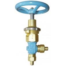 Клапан запорный криогенный АЗТ-10-10/250 (КС7144)