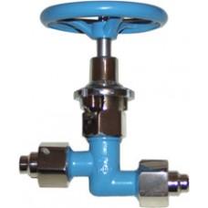 Клапан запорный криогенный АЗТ-10-15/250 (КС7141)