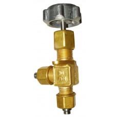 Клапан запорный криогенный АЗТ-10-4/250 (КС7104)