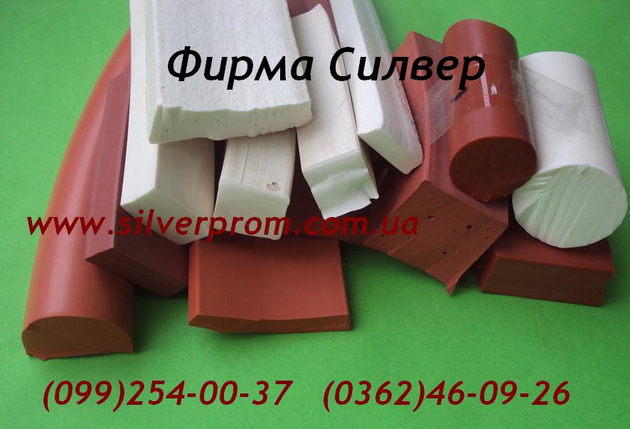 силиконовый шнур квадрпатного сечения