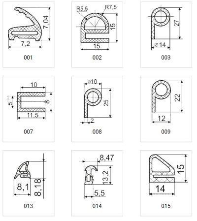 уплотнители термостойкие каталог 1