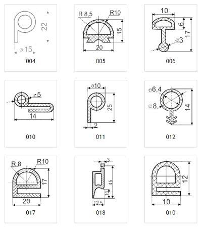 уплотнители термостойкие каталог 2