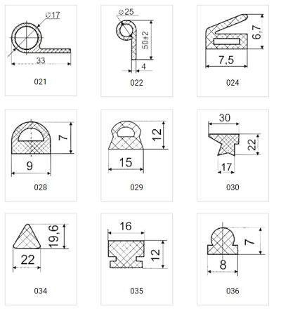 уплотнители термостойкие каталог 3