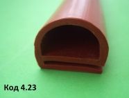 е-образные силиконовые профили 18х21 мм