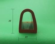 Полоса силиконовая термостойкая 10 мм