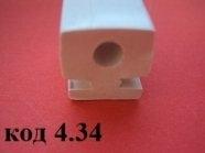 Профиль силиконовый пищевой 15 х 16 мм