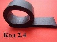 Профиль резиновый Р образный 20 мм, профиль, уплотнитель