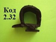 Уплотнители резиновые 25х22мм, уплотнитель