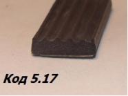 Уплотнители из пористой резины 20х4 мм