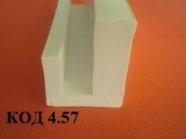 Уплотнитель П образный термостойкий 25 х 32 мм