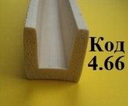 Уплотнитель силиконовый П образный 20х10 мм