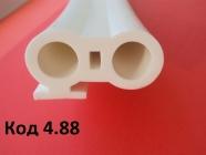 Код.4.88. Профиль для пищевого оборудования 23х43мм